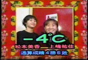 お笑いコンビ「-4℃」